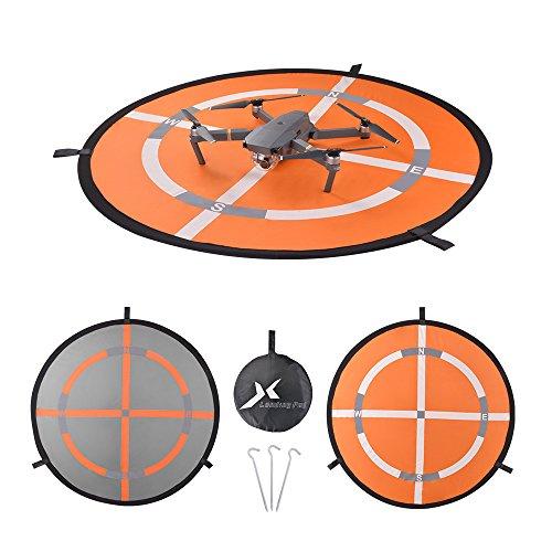 Memoru Faltbarer, tragbarer wasserdichter Landing Pad Hubschrauberlandeplatz für DJI Mavic Pro Phantom 2/3/4 inspiriert Syma Yuneec
