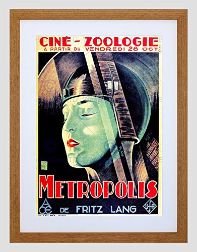 Preisvergleich Produktbild FILM METROPOLIS FRITZ LANG DYSTOPIAN FUTURE VISION FRANCE ART PRINT B12X12164