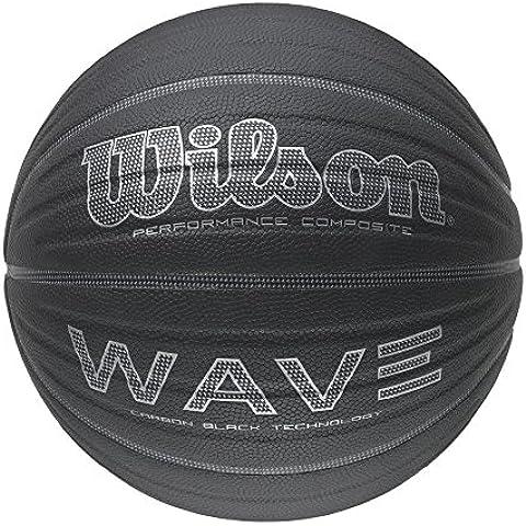 Wilson Wave Carbon - Balón de baloncesto, color negro