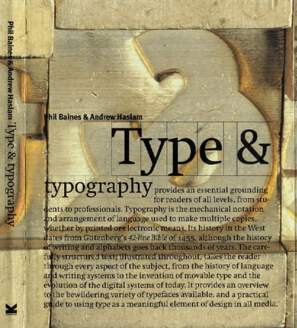 Type and Typography por Phil Baines