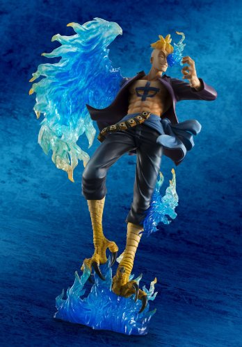 Megahouse One Piece Portrait of Pirates: Marco The Phoenix Excellent Model MAS PVC Figure 4
