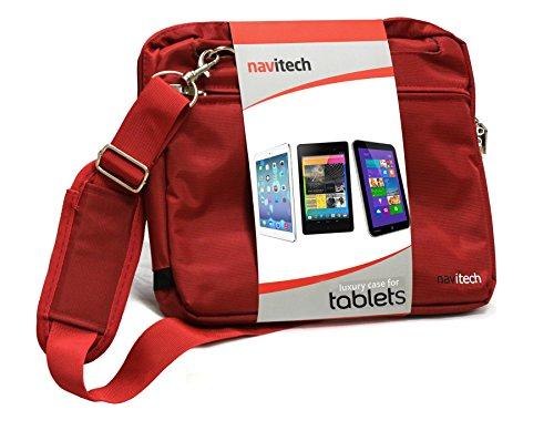 Navitech Rot Laptop / Notebook / Ultrabook Case / Tasche für das Microsoft SurfaceBook