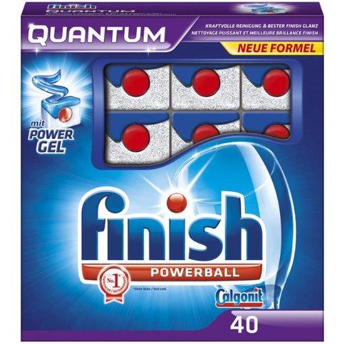 Finish Quantum Spülmaschinentabs, 1er Pack (1 x 40 Tabs)