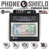 Mission Darkness Fenster Faraday Tasche für Telefone // 5. Generation Abschirmung für Strafverfolgung und Militär // Anti-Hacking, Signalblockierung, Datenschutz -
