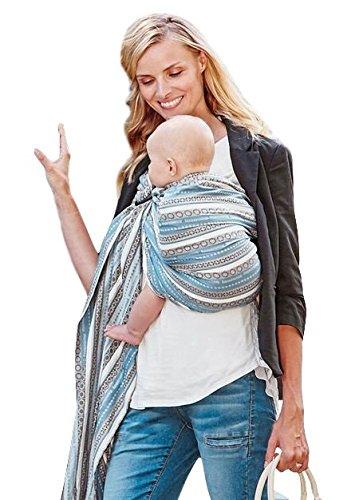 Mamaway Bague de bébé Sling   Carrier   la naissance au 3 Yr allaitement   léger et robuste en nylon Anneaux   testé pour supporter 50 kg pour 24 hrs   Baby Shower Gift  One Size Fits All