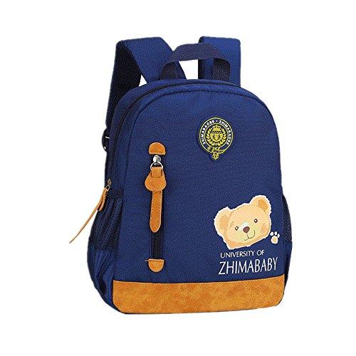 Nouveauté Sac à Dos Enfant Maternelle Cartable Préscolaire Backpack Sac d'Ecole Primaire Oxford Étanche Sac Scolaire/ Camping/ Voyage Pour Garçons Filles 2-6 Ans