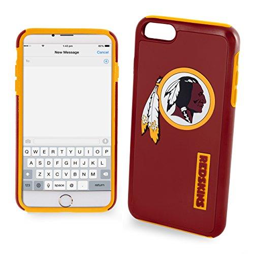 Forever Collectibles NFL Washington Redskins Auswirkungen TPU 2teilige Dual Hybrid iPhone 7/6/6S Cover-11,9cm Bildschirm nur