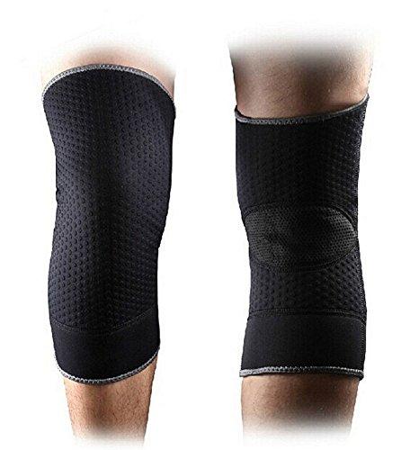 Fitdoo Knieschützer Kniewärmer Kompression Atmungsaktiv Anti-rutsch für Damen und Herren XL