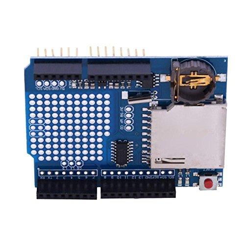 DollaTek Registratore Data Logger Modulo Shield XD-204 per Arduino Uno SD Card Professional