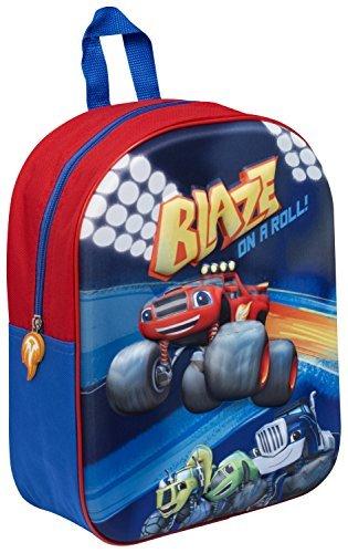 Imagen de blaze y la monster machines niño 3d  escuela guardería bolso nuevo