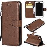 BoxTii Coque iPhone 7 / iPhone 8, Etui en Cuir Flip Portefeuille Housse de Protection...