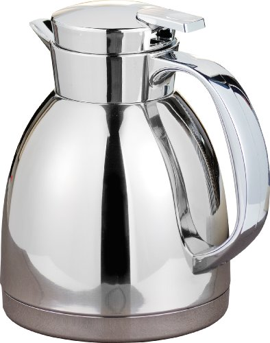 Esmeyer 305-004 Bouteille Isotherme MAESTRO 1,0 litre, inox, incassable, avec inserts en inox, hauteur : 194 mm