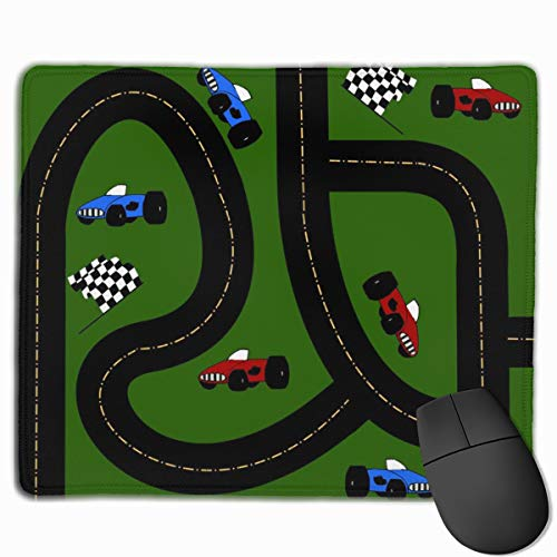Track Slip (Around The Race Track_41320 Mouse pad Custom Gaming Mousepad Nonslip Rubber Backing 9.8