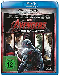Avengers - Age of Ultron 3D + 2D [3D Blu-ray] [Limited Edition]