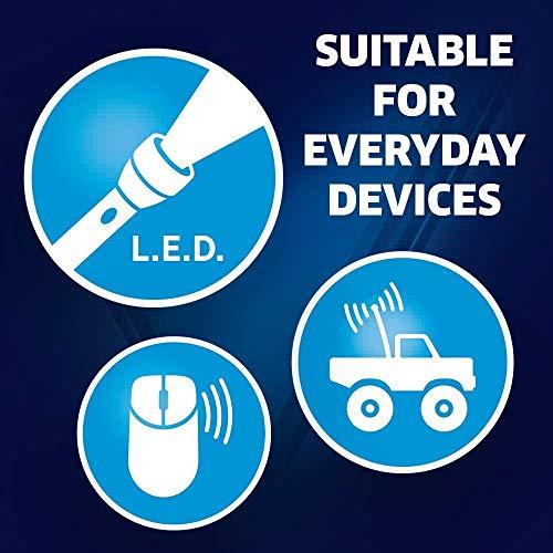 Varta High Energy Batterie AAA Micro Alkaline Batterien LR03 – 10er Pack - 7
