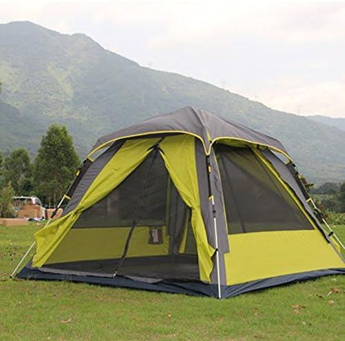Tendes MAZHONG Campeggio completamente automatico Tenda esterna esterna esterna 3-4 antipioggia (Coloreee   B) B07CL8ZSJ5 Parent   Di Alta Qualità E Poco Costoso    Prezzo ottimale  748420