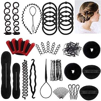 25pcs Haare Frisuren Set