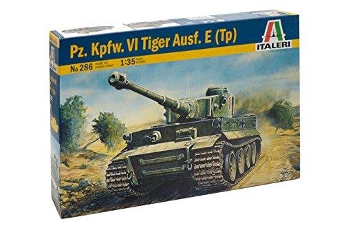 Italeri 0286S - Tiger I, Ausführung E/H1