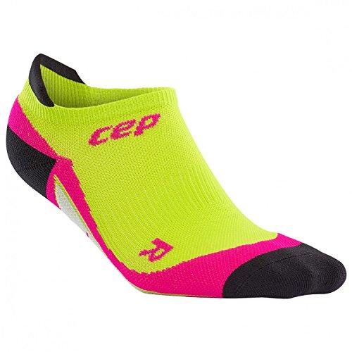 CEP Damen No Show Women Socken,Grün (Lime/Pink),  EU 40-43 (UK 6.5-9)