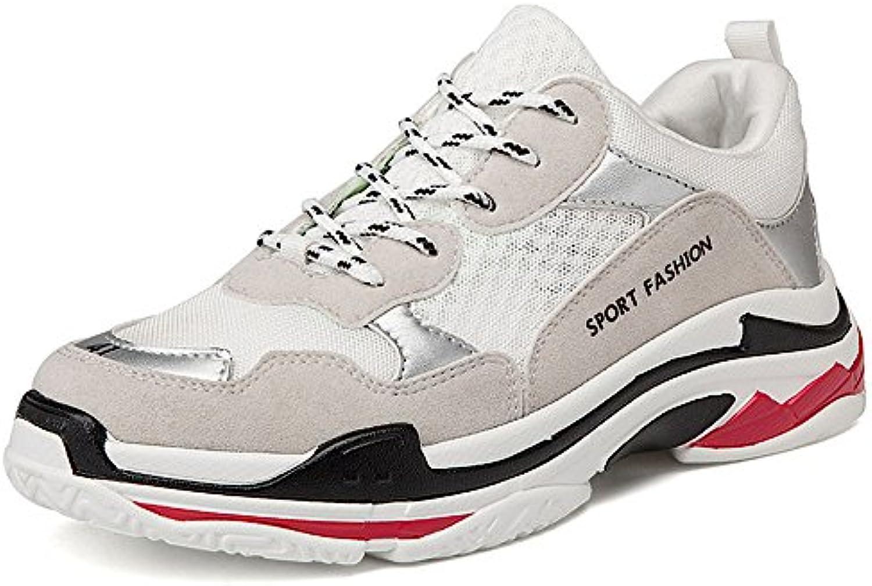Herren Sneaker Frühling und Sommer Breathable Casual Schuh Weiß Laufschuhe 24.5 27.0cm