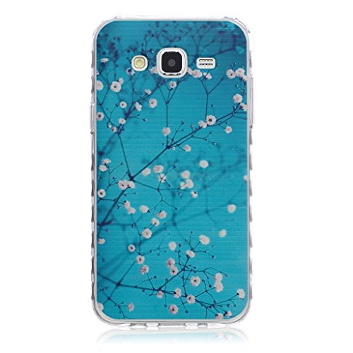 For Samsung Galaxy J5(2015) Case, Samsung Galaxy J5008 Case [With Tempered Glass Screen Protector],idatog(TM) Soft Silicone Bumper Ultra Thin Slim Flexible Cover Case ,High Quality TPU with Colorful Cute Printed Pattern Fashion Design Protective Back Rubber Case Cover Shell Perfect Fitted For Samsung Galaxy J5(2015)/J5008 (Wintersweet) Test