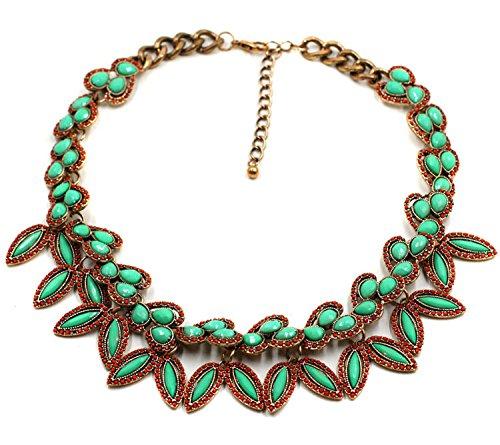 Collier Gliederkette Kette Halskette Charmes Vintagekette Trachtenschmuck NEU