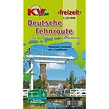 Fehnroute: Radwander-/Autokarte mit 15 Detailkarten der Deutschen Fehnroute, 1:50.000 (KVplan Ostfriesland-Region / http://www.kv-plan.de/Ostfriesland.html)