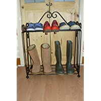Welly boot shoe rack organiser boot stand