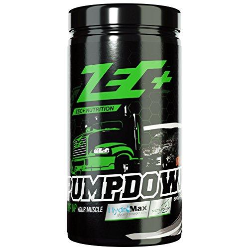ZEC+ Pumpdown Pre-Workout Booster, Pump Booster mit Arginin AKG, L-Citrullin-Malat & HydroMax™ Glycerol, Traingsbooster für besseren Pump, Geschmack Orange 600 g