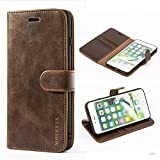 Housse Cuir iPhone 8 Plus/iPhone 7 Plus, Mulbess Étui Coque en Cuir iPhone 8...