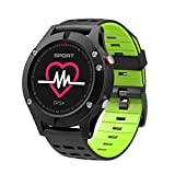 Generic OLED GPS Smart Uhr Höhenmesser Barometer Thermometer Bluetooth 4.2 IP67 Smartwatch Tragbare Geräte für iOS Android