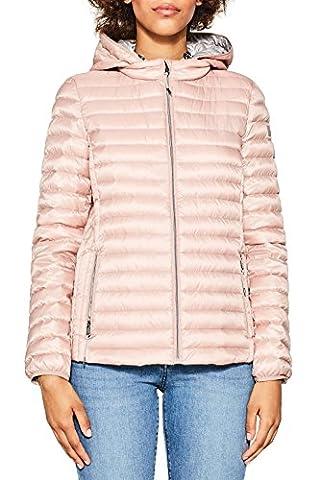 ESPRIT Damen Jacke 077EE1G006, Rosa (Old Pink 680), Large