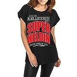 Spaß kostet Frauen lässiges weites Shirt Service Kellnerin Weil Superheldin kein Beruf ist