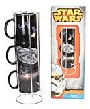 Star Wars Stackable Mugs Set Death Star - Millenium Battle Toys Calici Tazze