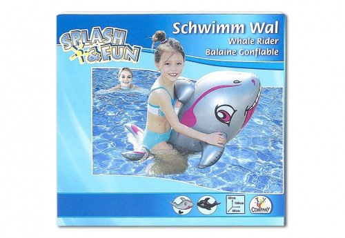 Preisvergleich Produktbild The Toy Company 18472 - Splash und fun Schwimmtier Wal