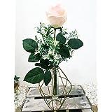 Composicion de florero con rosa