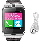 RDT Bluetooth SmartWatch GV18con cámara apoyo NFC SIM y tarjeta TF impermeable reloj de pulsera para Android Samsung S5/S6/Nota 4/nota 5, HTC, Sony, LG y iOS iPhone 5/5S/6/6Plus