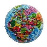 Softball Springball Globus Erdkugel Weltkugel ca. 6 cm, Ball