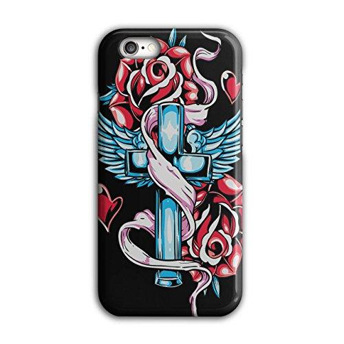 Liebe Kreuz Engel Rose Religion iPhone 6 / 6S Hülle | Wellcoda