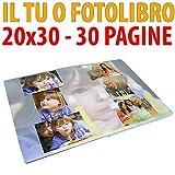 STAMPA IL TUO FOTOLIBRO FORMATO 20X30 DA 30 PAGINE - GRAFICA OMAGGIO FL39SCONTOFOTO