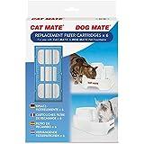 PetMate Set de 6 Cartouches Filtrantes de Rechange à Utiliser avec Les Fontaines Dog Mate/Cat Mate