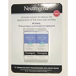 Neutrogena Healthy Skin Anti Wrinkle Cream, Broad Spectrum, 1.4 ounce (Pack of 2)