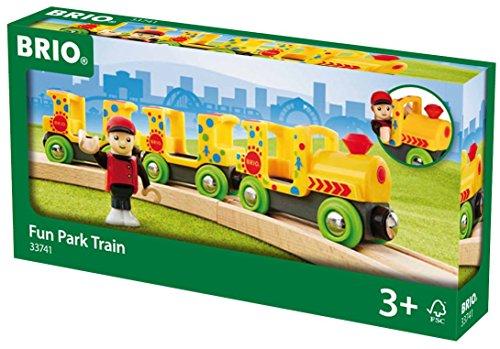 Preisvergleich Produktbild BRIO 33741 - Fun Park Zug, Stadtleben