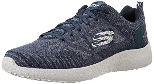 Skechers Burst Deal Closer Grey And Blue Navy