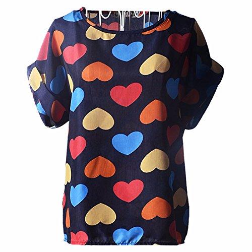 mujeres-de-la-manga-corta-del-verano-del-roll-up-o-cuello-impresos-gasa-floja-camisetas-tops