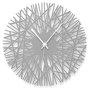 Wandkings Wanduhr Chopsticks Aus Acrylglas In 11 Farben Erhltlich Farbe Uhr Grau Glnzend Zeiger Weiss