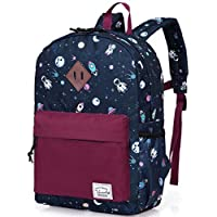 VASCHY Kids Backpack Kids Backpack Boys Kids School Book Bag Small Backpack for Children Backpack with Chest Strap