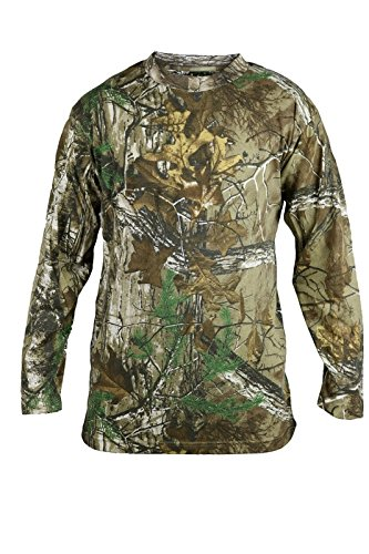 Mens-LONG-SLEEVE-Camouflage-Print-Forest-Jungle-Tshirt-Camo-Full-Sleeved-T-Shirt-Top-Outdoor-Hunting-Shooting-Camo-Real-Tree-Woods