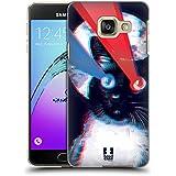 Head Case Designs Laser Chats Étranges Étui Coque D'Arrière Rigide Pour Samsung Galaxy A3 (2016)
