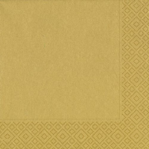 Heku® 241-24 Servietten 33x33cm Tissue 20 StückDesign: Gold